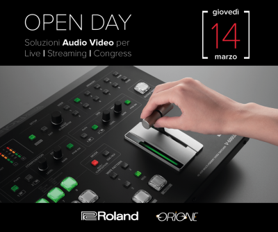 OPEN DAY DEMO ROLAND